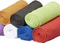 Fitness pohodlný ručník