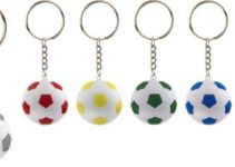 Klíčenka s fotbalovým míčkem