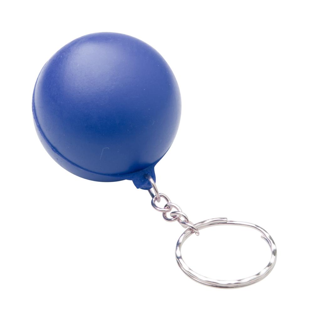 Antistresový balonek s kroužkem na klíče