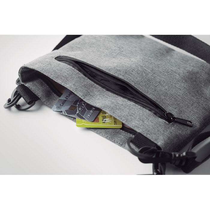 Cestovní malá taška přes rameno se RFID ochranou