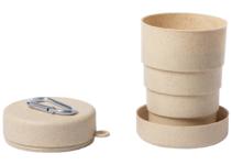 Skládací pohárek z bambusu