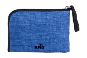 Peněženka na zip na mince a karty s RFID ochranou