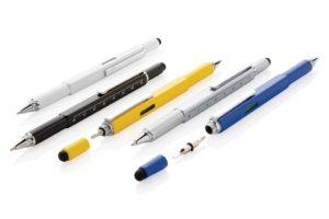 Multifunkční pero s pravítkem 7cm