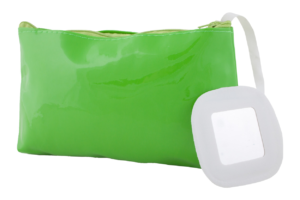 Kosmetická taška na zip se zrcátkem