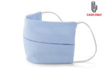 Opakovaně použitelná dvouvrstvá, bavlněná, ochranná maska