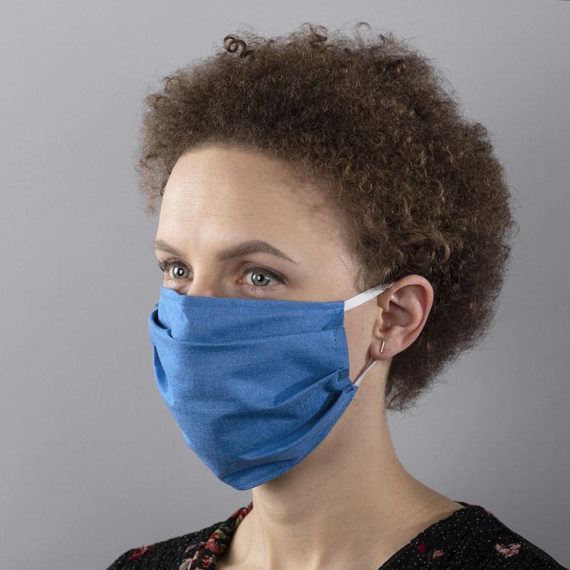 Opakovaně použitelná, ochranná obličejová maska