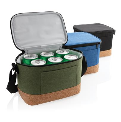 Dvoubarevná chladicí taška s korkovým dnem