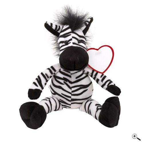 Propagační plyšová zebra