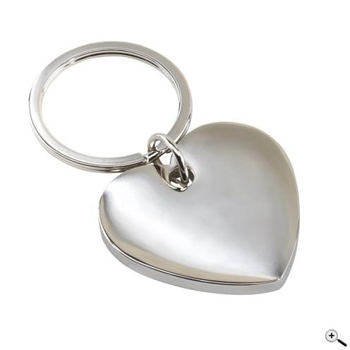 Klíčenka ve tvaru srdce