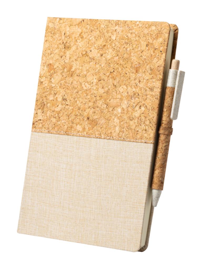 Blok A5 s deskami z přírodního korku