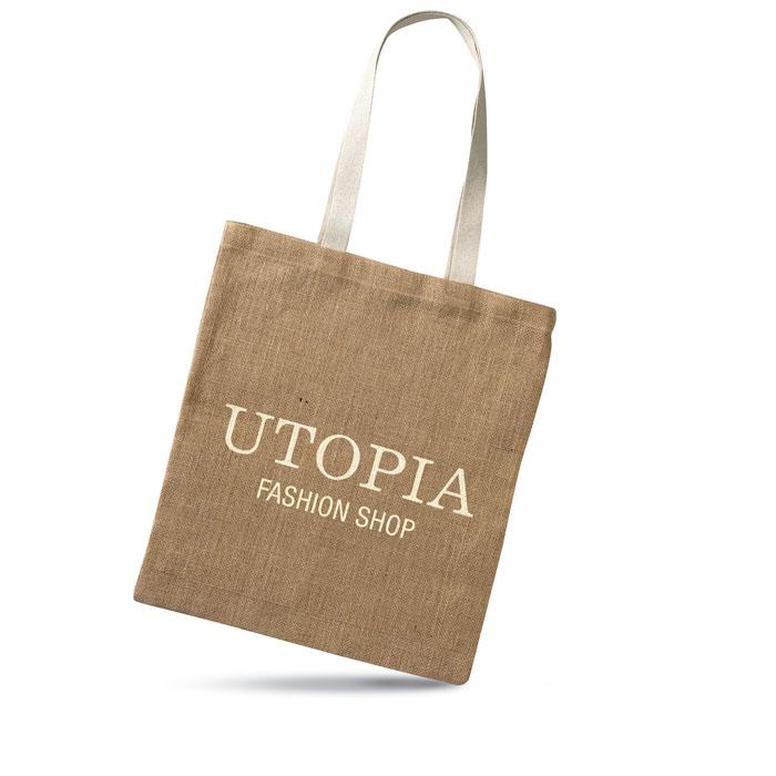 Ekologicky šetrná nákupní taška z juty