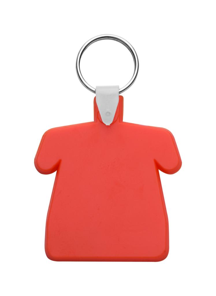 Plastový přívěšek ve tvaru trička