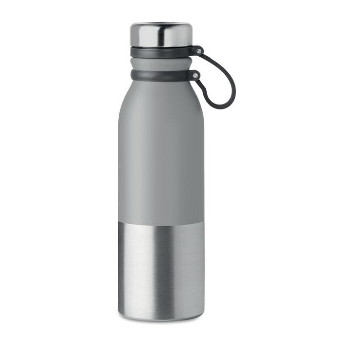 Dvoustěnná nerezová láhev se silikonovým potahem