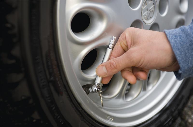 Měřič oblouku pneumatiky