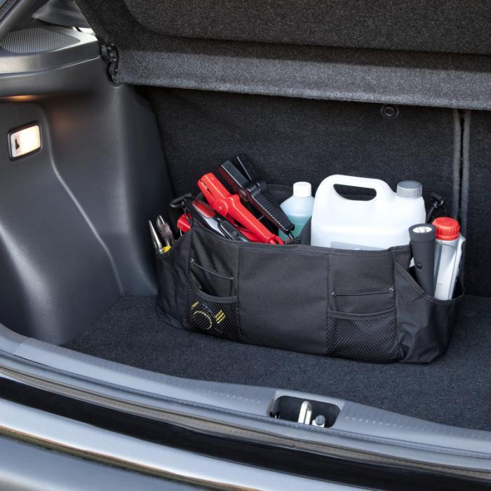 Přenosný organizér do kufru auta