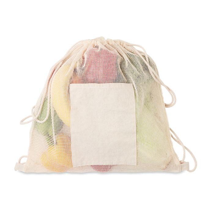 Stahovací batoh s přední kapsou