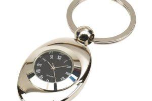Klíčenka s integrovanými hodinami