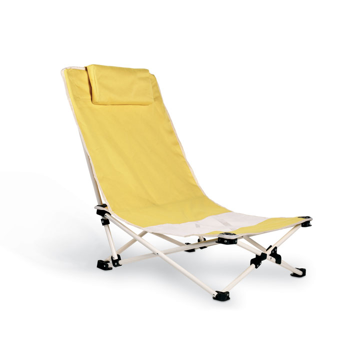 Pohodlná skládací plážová židle