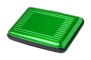 Hliníkový obal na kreditní karty s RFID ochranou