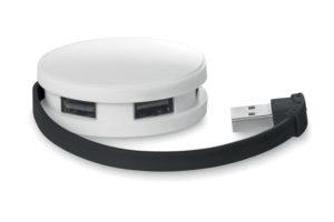 Jednoduchý 4 portový 2.0 USB v pouzdře
