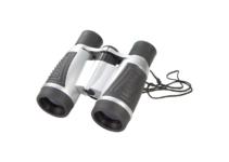 Plastový dalekohled s čistícím hadříkem v pouzdře