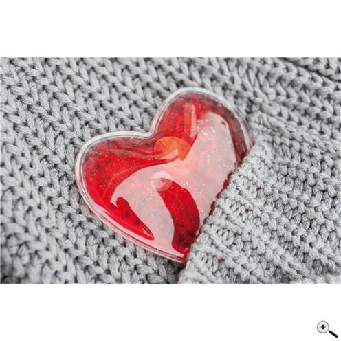 Hřejivé srdce do kapsy