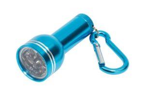Mini svítilna s karabinou na klíče