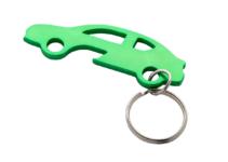 Přívěšek na klíče ve tvaru auta s otvírákem na láhve